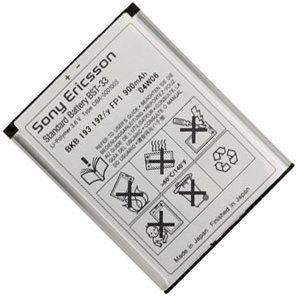 На аккумуляторе мобильного телефона Sony Ericsson черным по белому написана емкость в 900 мА/ч
