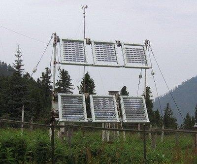 Солнечные батареи обеспечивают электроэнергией прибайкальскую метеостанцию на склонах Хамар-Дабан