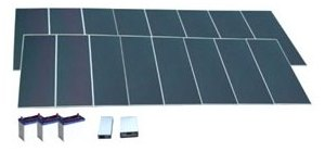 Солнечные батареи AP-640 решают проблему электроснабжения домов