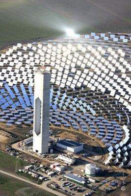 Самая крупная солнечная электростанция в Испании имеет мощность в 20 мегаватт