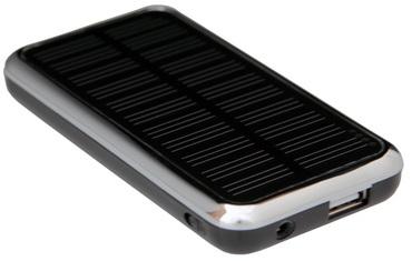 Портативная солнечная батарея для зарядки и питания мобильных телефонов