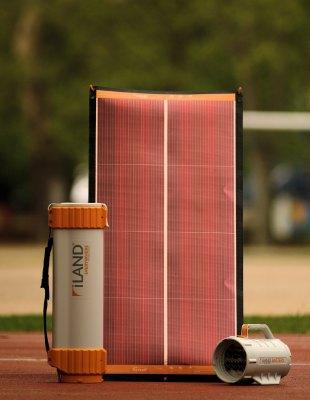 Гибкая солнечная батарея для кемпинга
