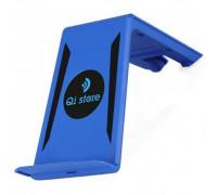 Зарядка беспроводная Qistore Slant (синия)