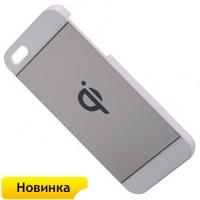 Ресивер - приемник Qi чехол беспроводной зарядки для телефона Apple iPhone 5, 5s (белый)